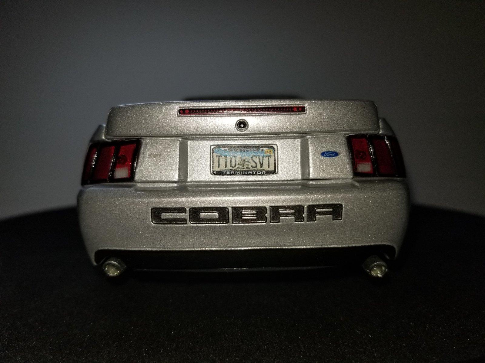 Terminator Cobra Diecast