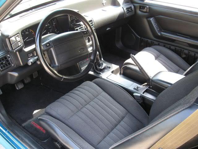 2010 Mustang For Sale >> 1993 Mustang Cobra #199 - Teal / Black | SVTPerformance.com
