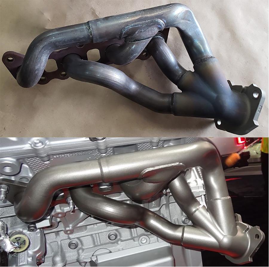 __GT500 GT350 exhaust manifold comparison.jpg