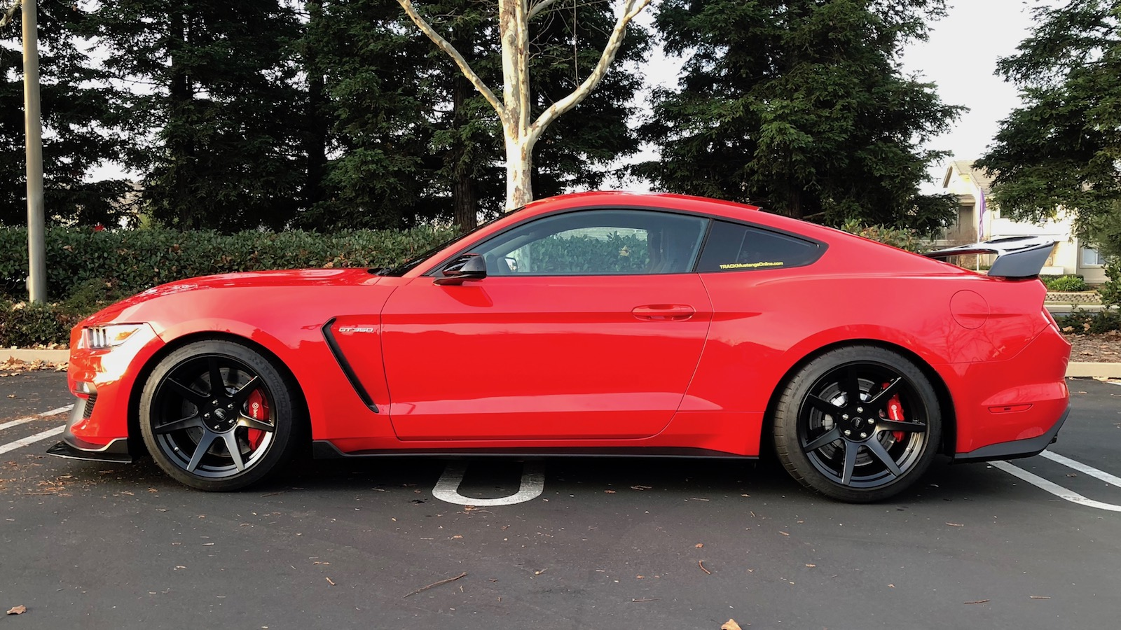 2016 Gt350 Track Pack With Cf R Look Wing And Splitter